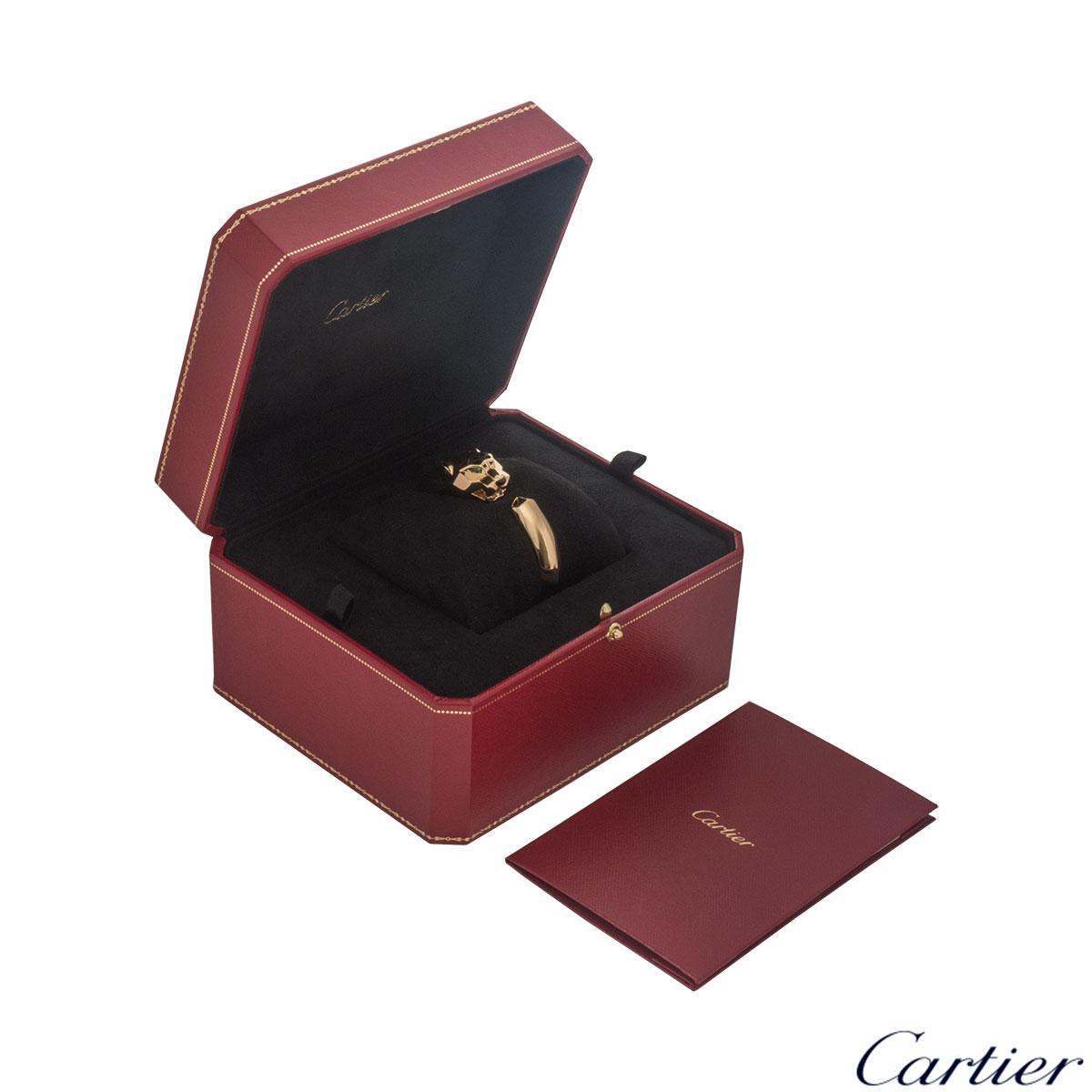 Cartier Yellow Gold Panthere De Cartier Bracelet N6033403